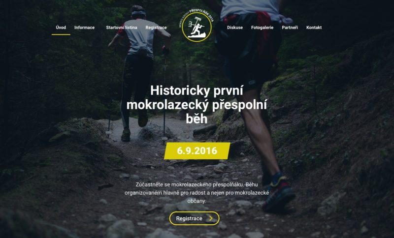 Hlavní srana webu prespolnak.cz